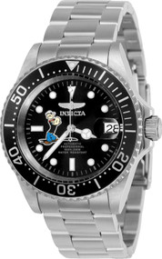 Invicta Men's 24486 Character  Automatic 3 Hand Black Dial Watch