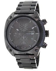 Diesel Herren-Armbanduhr OverFlow Chronograph Quarz Edelstahl beschichtet DZ4223