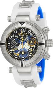 Invicta Women's 24511 Disney Quartz Multifunction Black, Gunmetal, Silver Dial Watch