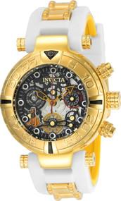 Invicta Women's 24520 Disney Quartz Chronograph Black, Gunmetal, Silver Dial Watch