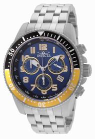 Invicta Men's 24649 Pro Diver Quartz Chronograph Blue Dial Watch