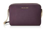 MICHAEL Michael Kors Women's Large East / West Cross Body Bag, Damson, One Size