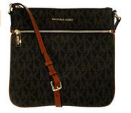 MICHAEL Michael Kors Bedford Flat Crossbody  Brown 32H5GBFC2V-200