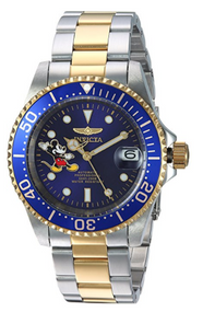 Invicta Men's 24754 Disney Automatic 3 Hand Blue Dial Watch
