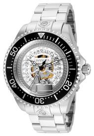 Invicta Men's 24908 Character Quartz Multifunction Silver Dial Watch