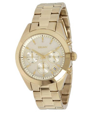 DKNY NY8514 UNISEX GOLD PLATED STAINLESS STEEL MINERAL WATCH [Watch]