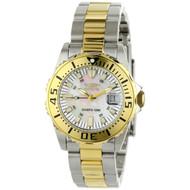 Invicta Women's 6895 Pro Diver Quartz 3 Hand White Dial Watch