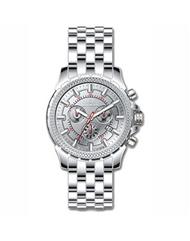 Invicta Men's 7167 Signature Quartz Chronograph Silver Dial Watch