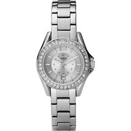 Fossil Women's ES2879 Silver Stainless-Steel Quartz Watch [Watch] Fossil