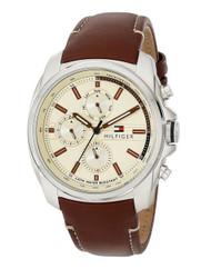 Tommy Hilfiger Men's 1791079 Analog Display Quartz Brown Watch