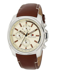 Tommy Hilfiger Men's 1791079 Analog Display Quartz Brown Watch