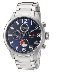 Tommy Hilfiger Men's Quartz Stainless Steel Casual Watch (Model: 1791242)