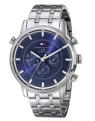 Tommy Hilfiger Men's 1790876 Sport Luxury Multi-Function Stainless Steel Watch