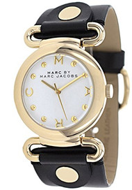 Marc Jacobs Damen-Armbanduhr Analog Quarz Leder MBM1304