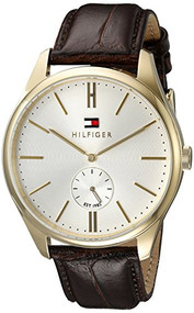 Tommy Hilfiger Men's 1791170 Analog Display Quartz Brown Watch