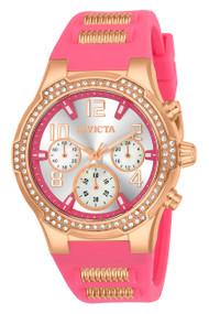 Invicta Women's 24200 BLU Quartz Multifunction Silver Dial Watch