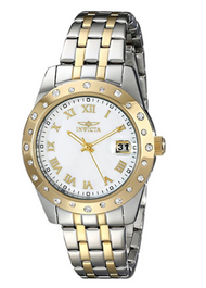 Invicta Women's 17489 Angel Analog Display Japanese Quartz Two Tone Watch