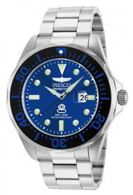 Invicta Men's 14655 Pro Diver Quartz 3 Hand Blue Dial Watch