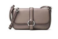 Michael Kors Quincy Grey Leather Crossbody Bag Cinder 32F6AQYC3L-513