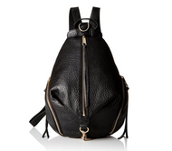Rebecca Minkoff Julian Gold Hardware Back pack, Black, One Size HS16IBLB01-001
