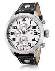 Invicta Men's 0351 I-Force Quartz Multifunction White Dial Watch