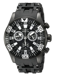Invicta Men's 19533 Sea Spider Analog Display Swiss Quartz Black Watch