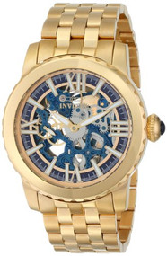 Invicta Women's 14149 Angel White Mother-Of-Pearl Dial 18k Gold Ion-Plated St...