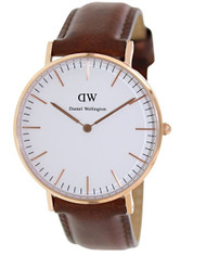 Daniel Wellington Women's 0507DW Classic St. Andrews Analog Display Quartz Brown Watch