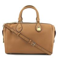 Michael Kors Grayson Large Convertible Pebbled Leather Satchel - Acorn30F7GGYS3L-532