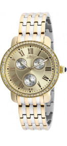 Invicta 21412 Womens Angel Gold Two Tone Stainless Steel Watch