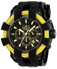 Invicta Men's 23871 Bolt Quartz Chronograph Black Dial Watch