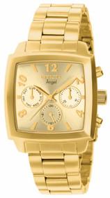 Invicta Women's 12101 Angel Quartz Chronograph Gold Dial Watch
