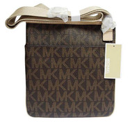 Michael Kors Jet Set Large Crossbody Brown [Accessory]