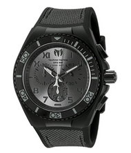 Technomarine Men's TM-115008 Cruise California Quartz Chronograph Black, Gunmetal Dial Watch