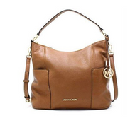 Michael Kors Anita Medium Convertible Handbag Luggage 35H7GA8L7L-230