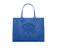 Tory Burch Women's Ella Nylon Nylon Top-Handle Tote (Regal Blue) 45207-497