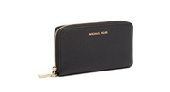 MICHAEL Michael Kors KORS STUDIO Large Flat Phone Case Wristlet Black 32F6GM9E3L-001