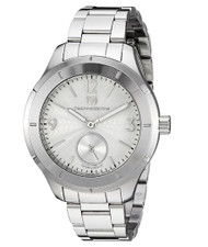Technomarine Men's TM-117029 Moon Sun Quartz Silver Dial Watch