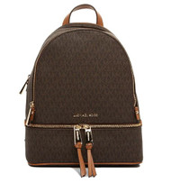 Michael Kors Rhea Zip - Brown Signature 30S7GEZB1B-200