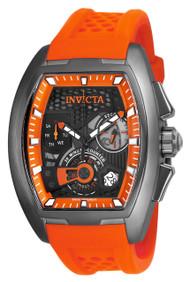 Invicta Men's 25937 S1 Rally Quartz Multifunction Orange, Black Dial Watch