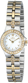 Invicta Women's 0133 Wildflower Collection 18k Gold-Plated and Stainless Stee...