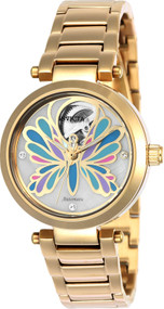 Invicta Women's 24450 Angel Automatic 3 Hand White Dial Watch