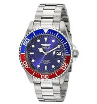 Invicta Men's 'Pro Diver' Quartz Stainless Steel Diving Watch, Color Silver-Toned (Model: 24946)
