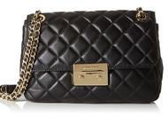 MICHAEL Michael Kors Sloan Large Chain Shoulder Bag Black  30S6GS7S2L-001