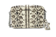 Michael Kors Crossbody MD Camera Bag Embossed Leather in Natural 32S8SGNM2E-270