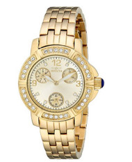 Invicta Women's 18964 Angel Analog Display Japanese Quartz Gold Watch