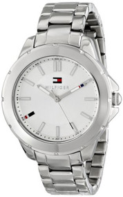 Tommy Hilfiger Women's 1781412 Analog Display Quartz Silver Watch