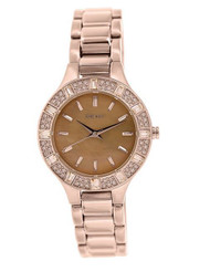 DKNY Chambers Rose Dial Rose Gold-tone Ladies Watch NY8486