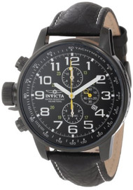 Invicta Men's 3332 Force Collection Stainless Steel and Leather Lefty Watch...