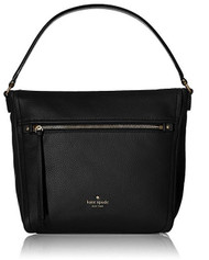 kate spade new york Cobble Hill Teagan Shoulder Bag, Black, One Size PXRU6478-001